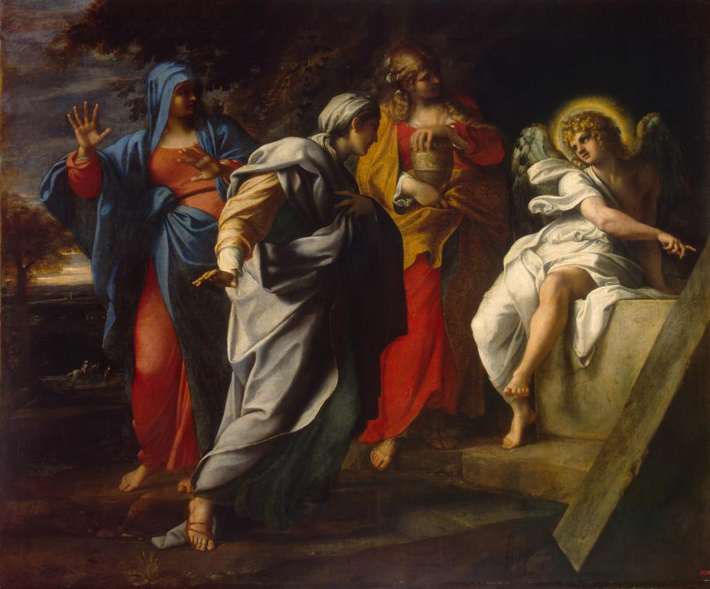 This image has an empty alt attribute; its file name is annibale_carracci_-_holy_women_at_christ_s_tomb_-_wga4454.jpg